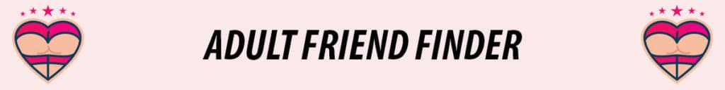 adult friend finder logo in pink