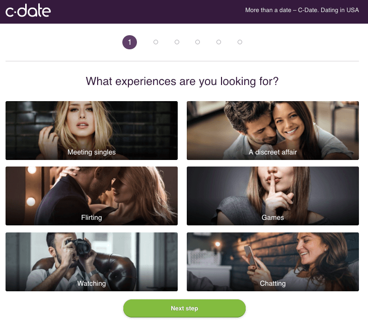 experience options on c-date
