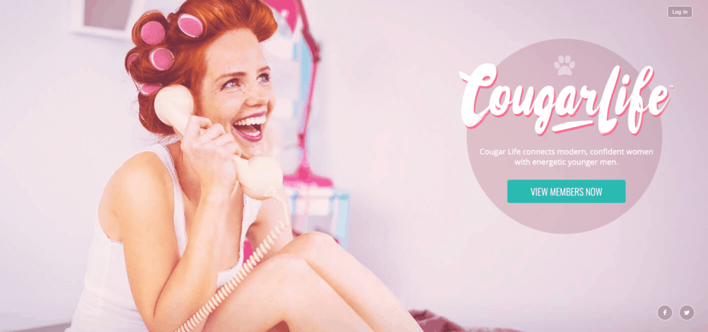 home page redhead from cougarlife