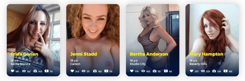 featured members of fapchat