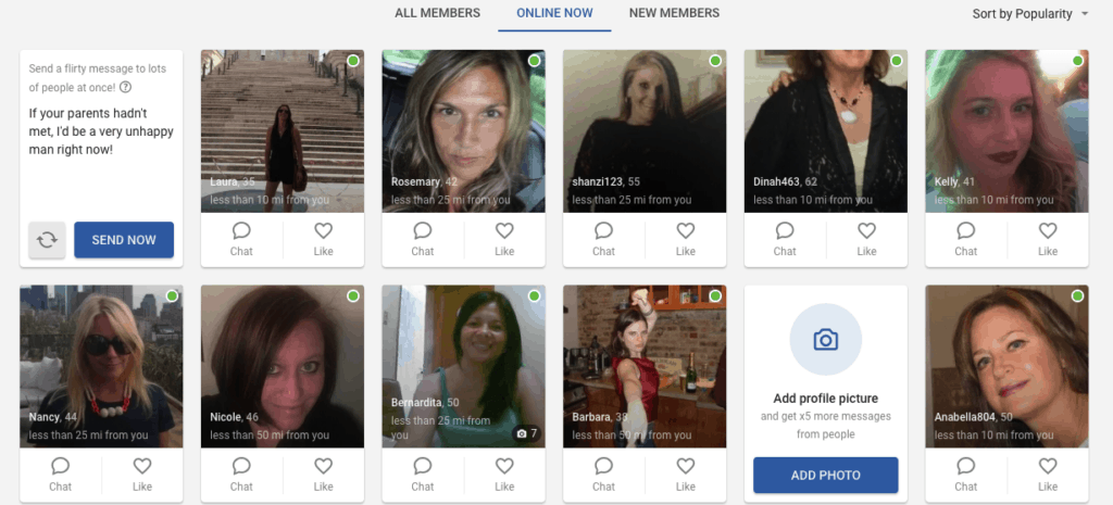 users online right now on wantmatures