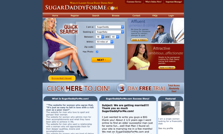 SugarDaddyForMe Review & Guide for 2020 [Free Access Included]